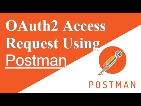 [100% Working Demo!!!] HowTo Requesting OAuth2 Access Token Using Postman  Tool
