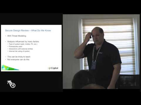 Software Security Initiative Capabilities - Where do I begin? - Jim DelGrosso - AppSec Ca 2016