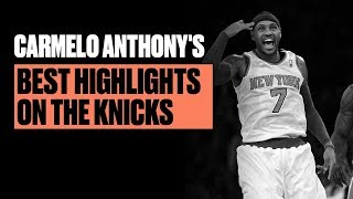 Carmelo Anthony Was An Automatic Bucket On The Knicks