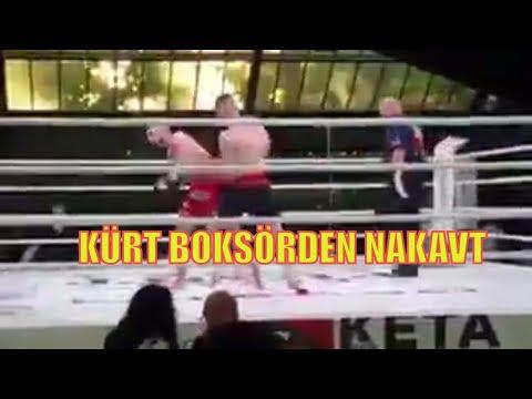 Efrin'li Kürt Boksçu Türk Rakibini Nakavt Etti