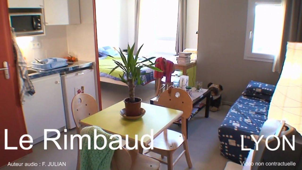 LYON 69008 Résidence étudiante Le Rimbaud - YouTube