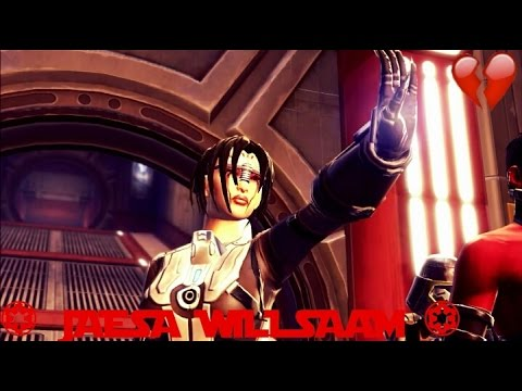 SWTOR Jaesa Willsaam Darkside Story & Conversations