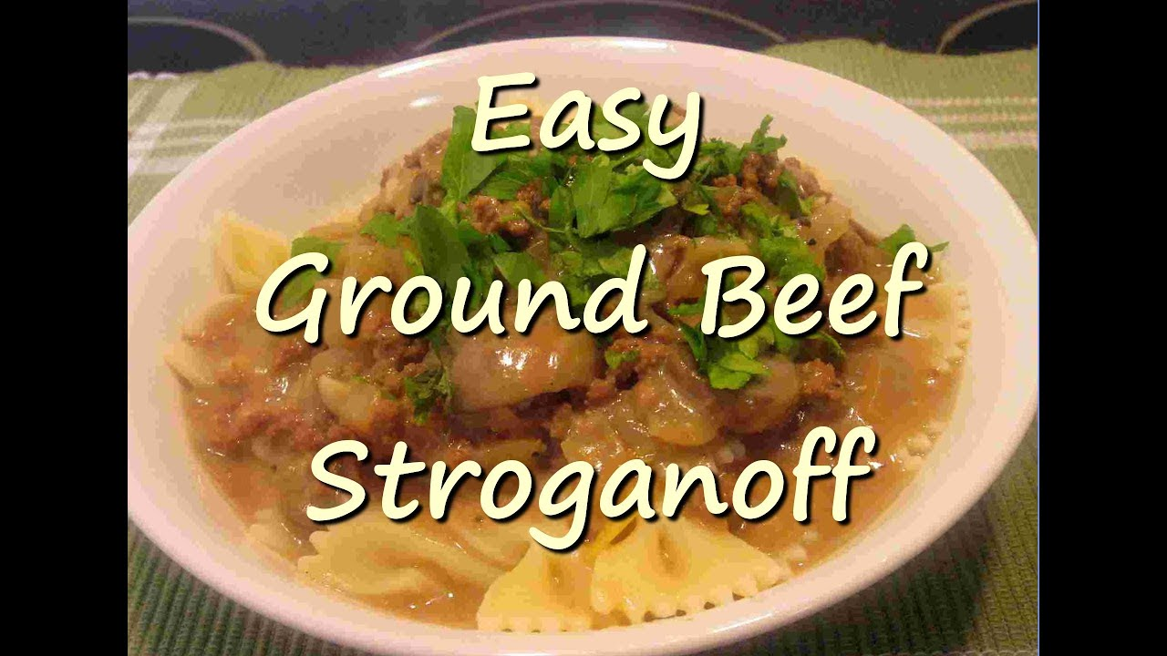 Simple easy recipes with hamburger meat