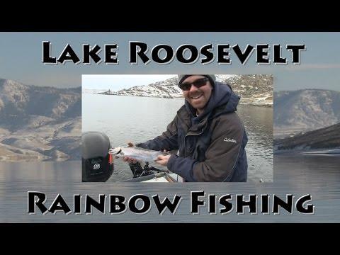 Lake Roosevelt Rainbow Fishing