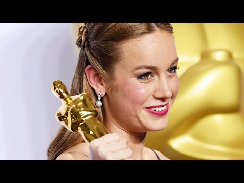 Brie Larson - Oscars Full Backstage Interview