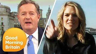 Piers Gives Charlotte an ITV vs BBC Boat Race Pep Talk! | Good Morning Britain