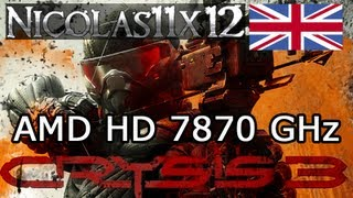 AMD HD 7870 GHz_ Crysis 3 Very High Settings Gameplay