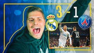 ESTO ES LA CHAMPIOOOOOONS!!!! |  REAL MADRID 3 - PSG 1 VLOG | CACHO01