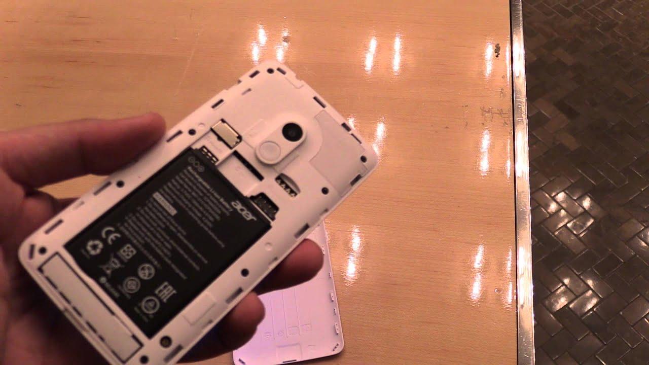 Acer Liquid Z200 Einsteiger Smartphone Im Hands