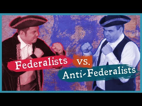 Constitutional Convention: Federalists V. Anti-Federalists
