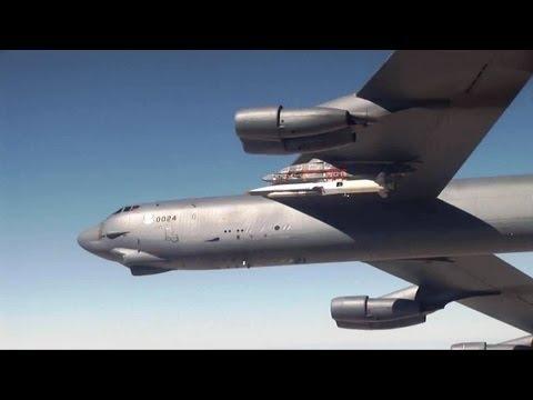 Boeing - X-51A WaveRider Scramjet 4th Flight Test Reached Speed Of Mach 5.1 [720p]