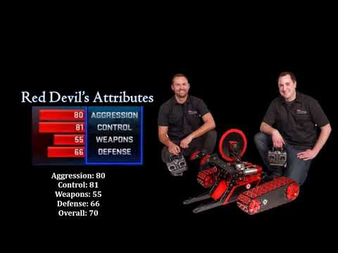 BattleBots 2016 Tournament - Attributes, Rankings And Overalls