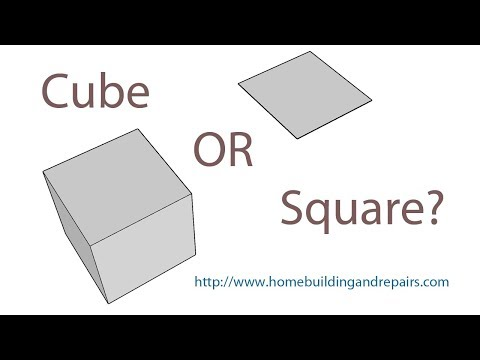 What's the Difference Between Square Footage and Cubic Feet? – Construction Math