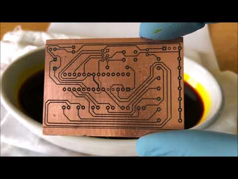 DIY PCB Toner Transfer (No Heat) & Etching