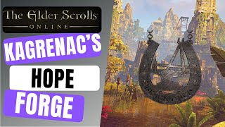Kagrenac's Hope Earth Forge location