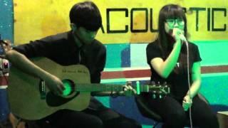 Vì anh là gió- sáng tác: Wendy Thảo cover by Nu nu, guitarist: Trương Nghĩa tại Rùi Acoustic