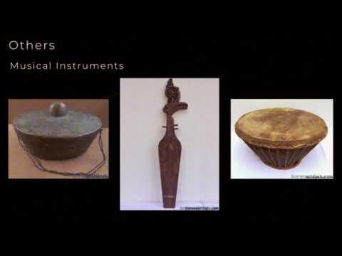 Asian cultural antique, art, home decor, culture and travel Borneo, Indonesia malaysia