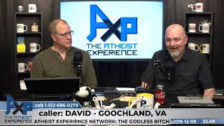 Neurological Micro-Catholic | David - VA | Atheist Experience 22.49