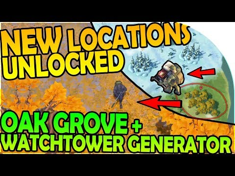 NEW LOCATIONS UNLOCKED, OAK GROVE, WATCHTOWER GENERATOR FIX- Last Day On Earth Survival 1.6.0 Update