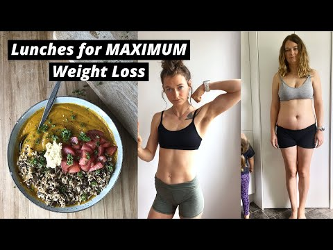 Maximum weight loss lunches//EAT MORE WEIGH LESS