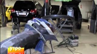 видео ремонт бамперов в Иркутске