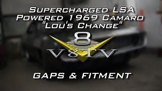 Body And Metal Install Fabrication: Setting Panel Gaps 1969 Camaro