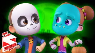 Halloween Beat   Spooky Nursery Rhymes For Children   Scary Videos For Kids