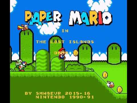 Paper Mario: The Lost Islands (COMING SOON TO SMW Central)