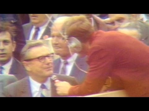 1969 WS Gm3: Governor Rockefeller interviewed