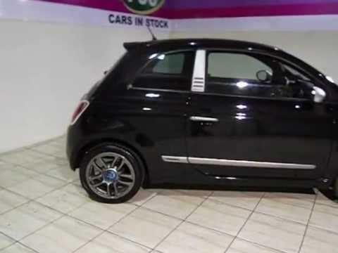 fiat 500 exterior interior tour of a 59 plate fiat 500. Black Bedroom Furniture Sets. Home Design Ideas