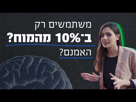 כאן מסבירים | מאיפה הגיע המיתוס שאנחנו משתמשים ב-10% מהמוח שלנו?