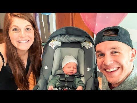 Taking Newborn Baby Home! *Precious*