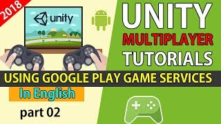 unity RealTime Multiplayer Google play game services (English) [02]