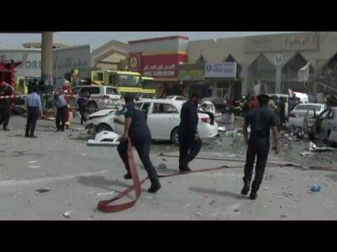 Mortal explosión de gas en Doha