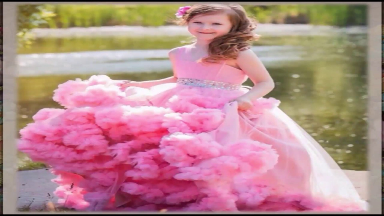 41e031719 اجمل فساتين الاطفال - احدث موديلات فساتين للبنات لصيف 2017 / اجمل ملابس  الاطفال روووعة