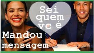 Neymar manda mensagem para Bruna Marquezine , surpreende  e ainda defende ela e atriz da ultimato thumbnail