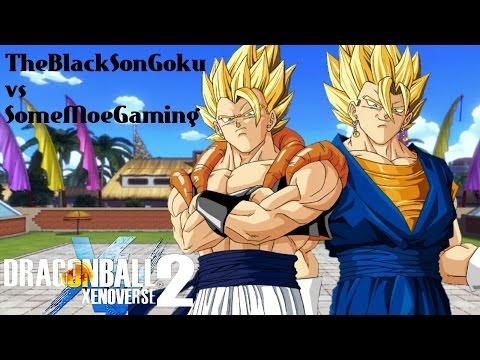 Youtuber Battles ! Who's Stronger Gogeta Or Vegito ! Xenoverse 2
