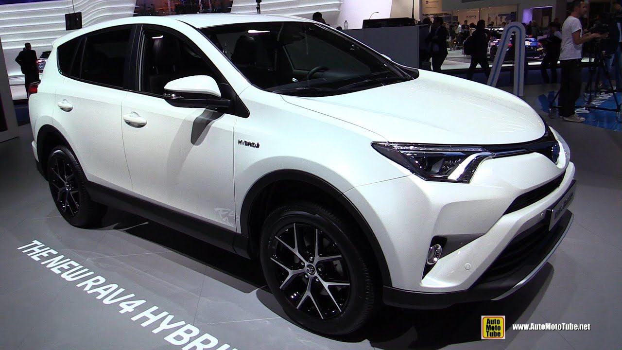 2016 Toyota Rav4 Hybrid Exterior And Interior Walkaround