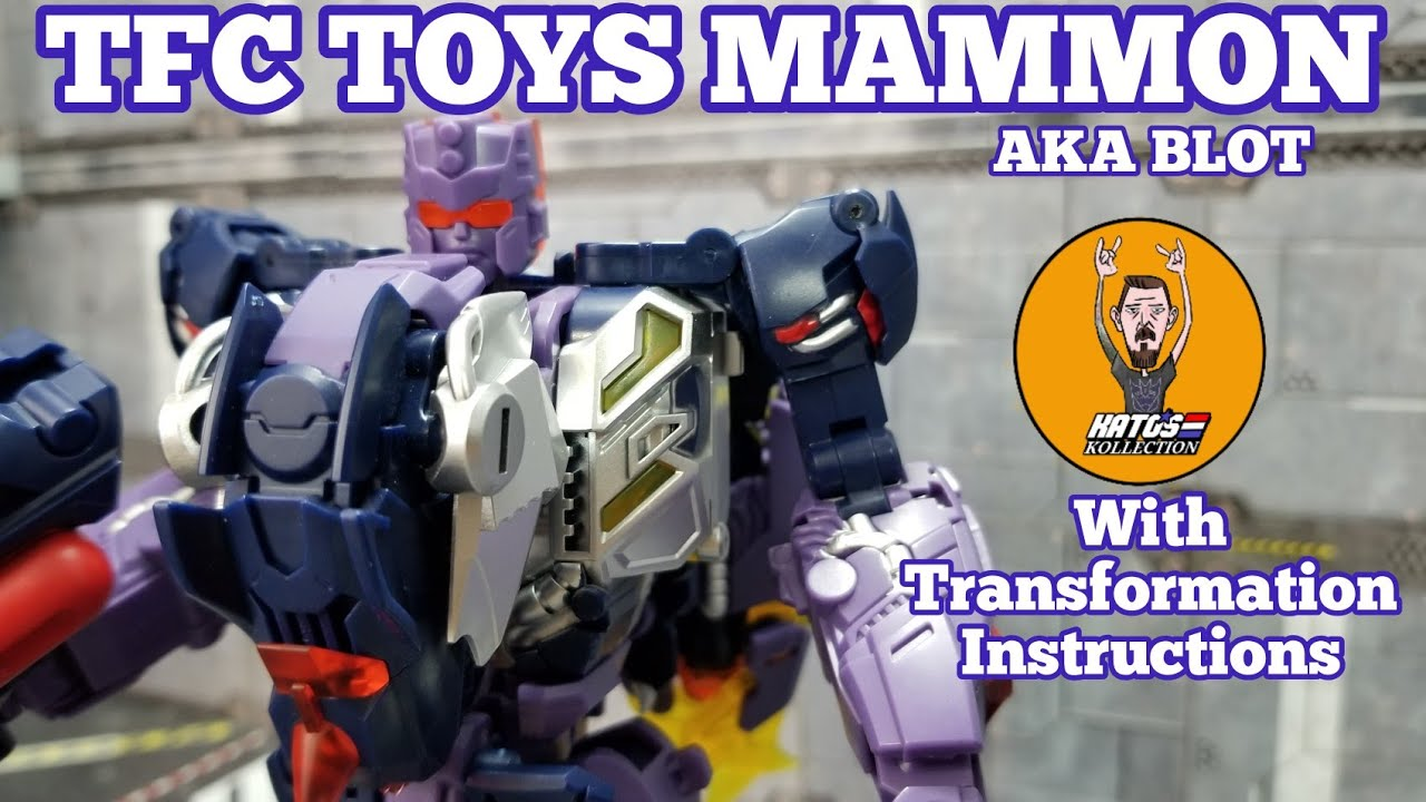 TFC Toys Mammon aka Terrorcon Blot Teview By Kato's Kollection