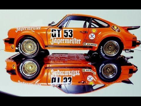 Schuco Porsche 934 RSR   Jagermeister  diecast model car