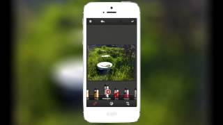 Показ работы Repix - отличной программы для обработки фото на iPhone