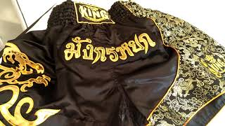 Short Top King Muay thai
