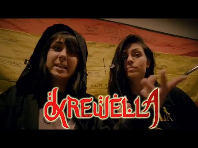 Fuck it, tomorrow we gon give you all some new Krewella || thisiz sanjeeva