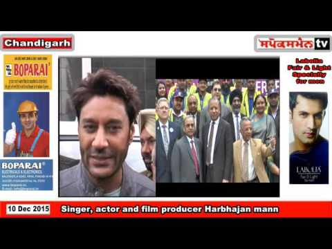 Harbhajan mann  during the rotary function Keep india polio free railly , in chandigarh