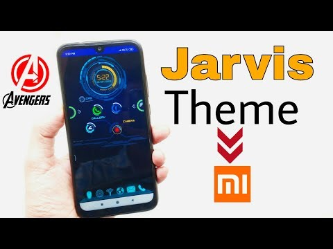 JARVIS theme for android - Myhiton