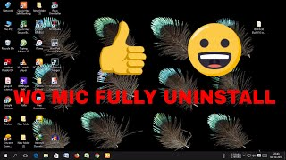 WO MIC FULLY UNINSTALL IN HINDHI