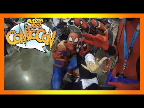 Puerto Rico Comic Con 2018: Cosplay Video!!!!