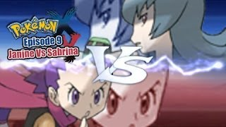 Pokemon X and Y WiFi Battle: Janine Vs Sabrina [Gym Leader]