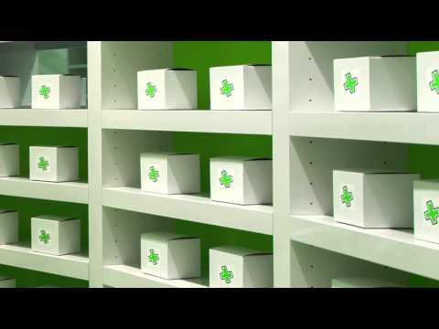 Sergio Mannino talks about the design of Careland Pharmacy