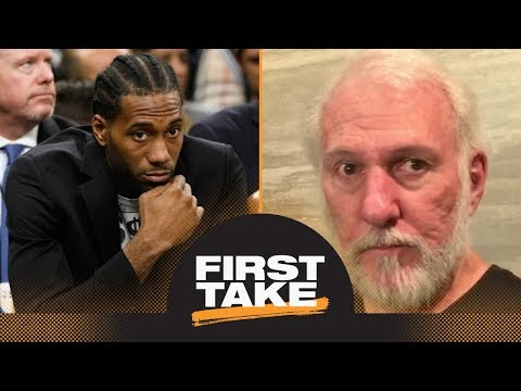 First Take debates how much 'damage' Kawhi Leonard has caused Spurs | First Take | ESPN